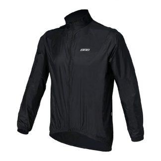 BBB BaseShield Black Rain Jacket Front