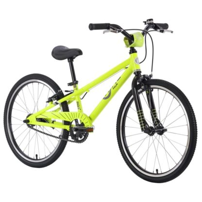 ByK E-450 Boys Neon Yellow Black Front