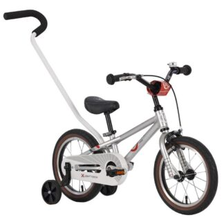 ByK E-250 Silver Alloy Boys Bike Front