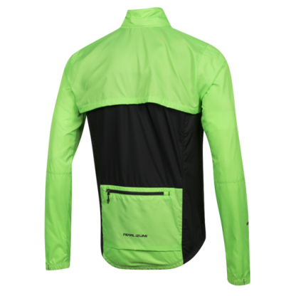 Pearl Izumi Elite Escape Jacket Green Rear