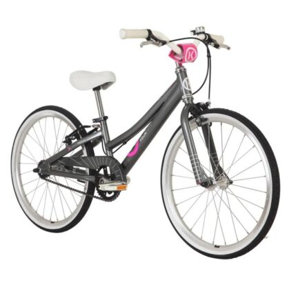 byk e-450 girls charcoal pink front
