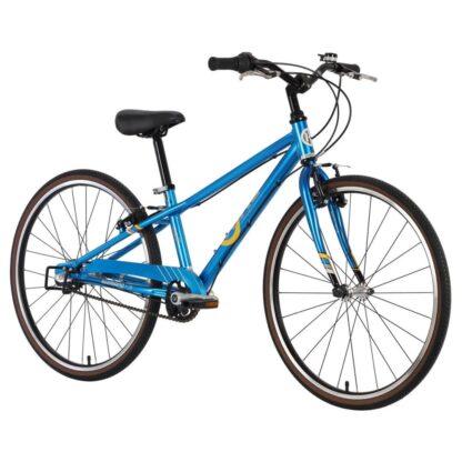 byk e-540-boys bike bright blue front