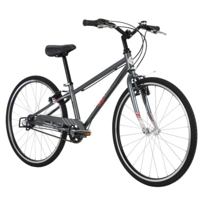 byk e-540 boys bike stealth charcoal front