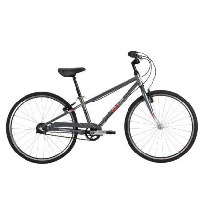 byk e-540 boys bike stealth charcoal side