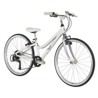byk e-540x9 girls bike lilac haze front