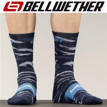 Bellwether Apparel Rock It Cycling Socks Ocean