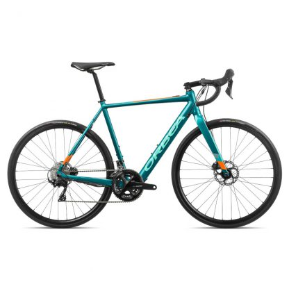 Orbea Gain D30 Road E-Bike Turquoise Orange