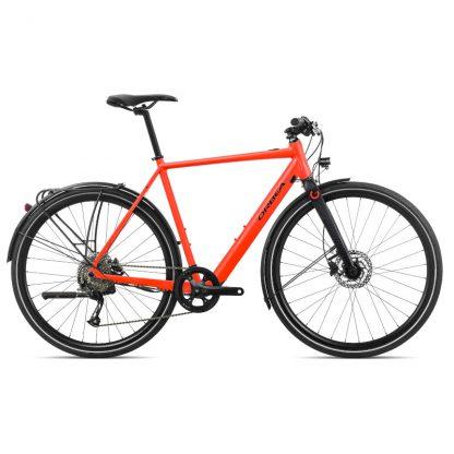 Orbea Gain F35 E-Bike Bright Red Black