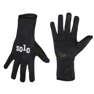 Solo Glove Softshell LF Black