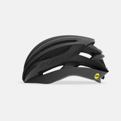 Giro Syntax Mips Road Helmet Matte Black Side