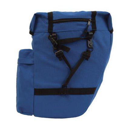Azur Commuter Rear Pannier Bag Blue 2