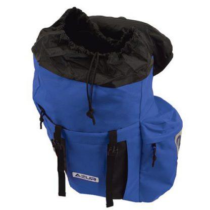 Azur Commuter Rear Pannier Bag Blue 3