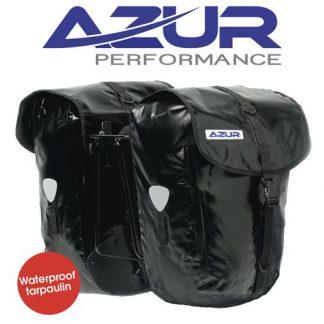 Azur Tarpaulin Pannier Bags Hero