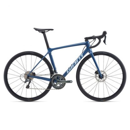 Giant TCR Advanced 3 Disc Road Bike Blue Ashes