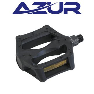 "Azur Middi Resin 9/16"" Bike Pedal - Black"