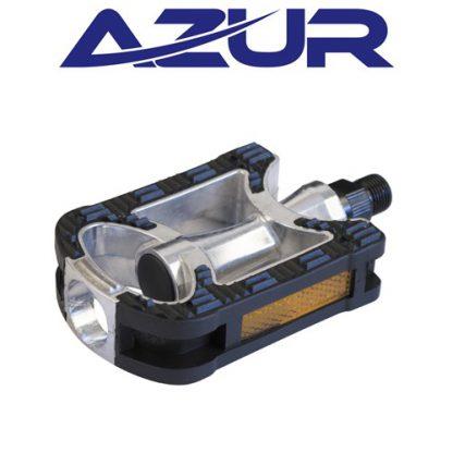 """Azur 9/16"""" Alloy/Rubber City Pedals"""