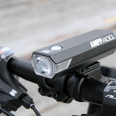 Cateye Ampp400 Front Bike Light 2