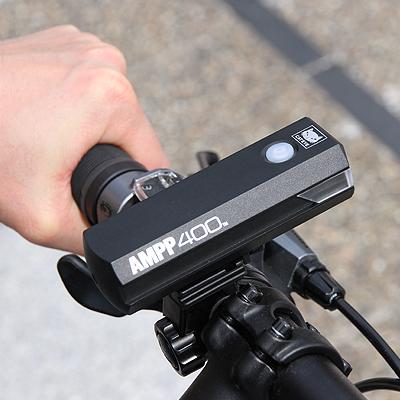 Cateye Ampp400 Front Bike Light 3