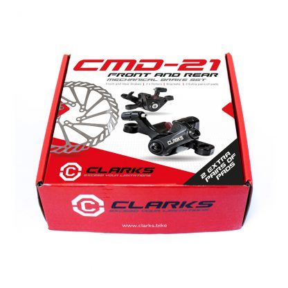 Clarks CMD-21 Front and Rear Mechanical Brake Set