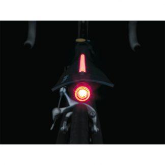 Topeak DeFender iGlow Rear Mud Guard - Up to 700x25C Bike Mudguard 2