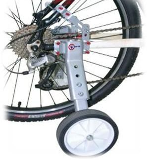 "Adult Training Wheels - 22""-28"" Bike Compatible (rated to 100kg)"