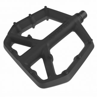 Adding to the Syncros lineup is a new budget flat pedal, the Syncros Squamish III Composite Flat Pedals Large.