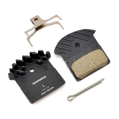 Shimano Disc Brake Pads - J02A with Fins