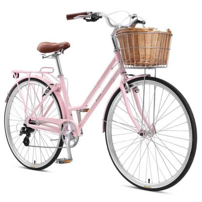 XDS Loretta Women's Retro Bike 2021 Pink Front