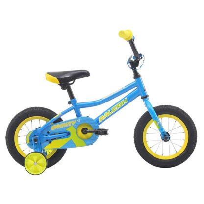 "Raleigh Gravity 12"" Boys Kids Bike 2021 Blue"