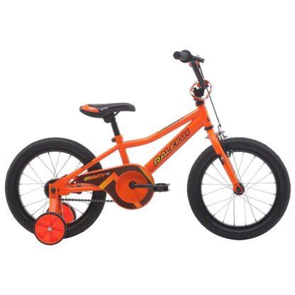 "Raleigh Gravity 16"" Boys Kids Bike 2021 Orange"