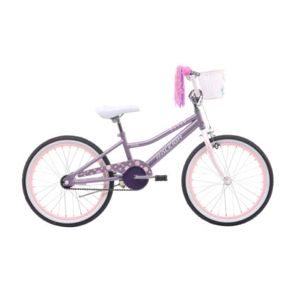 Raleigh Bella 20 Lavender Girls Kids Bike