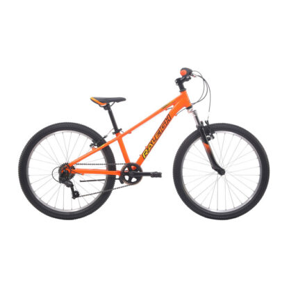Raleigh Eliminator 24 Orange Boys Kids Bike