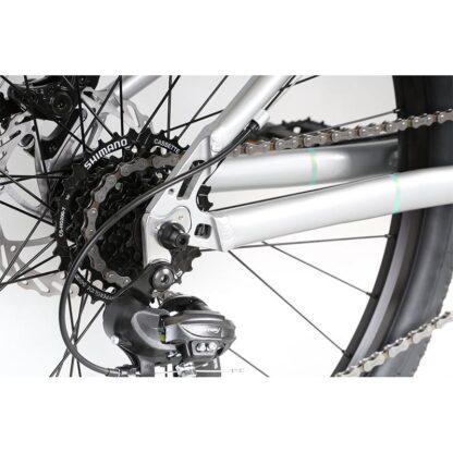 Haro Beasley 26 Kids Mountain Bike 2021 Silver Mint Stay