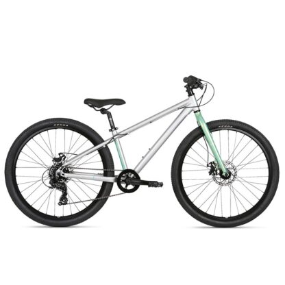 Haro Beasley 26 Kids Mountain Bike 2021 Silver Mint Hero