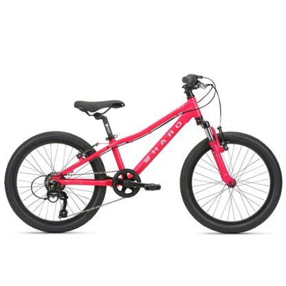 "Haro Flightline 20"" Kids Mountain Bike 2021 Magenta"