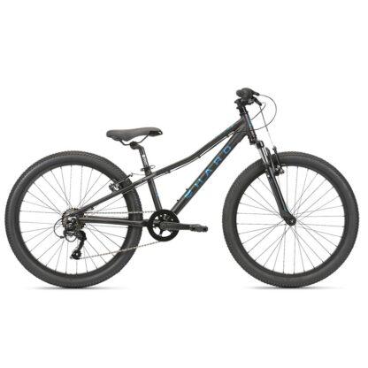 "Haro Flightline 24"" Kids Mountain Bike 2021 Black"