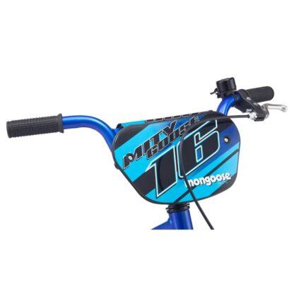 Mongoose MityGoose Boys Kids Bike Blue Handlebar
