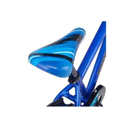Mongoose MityGoose Boys Kids Bike Blue Sadde