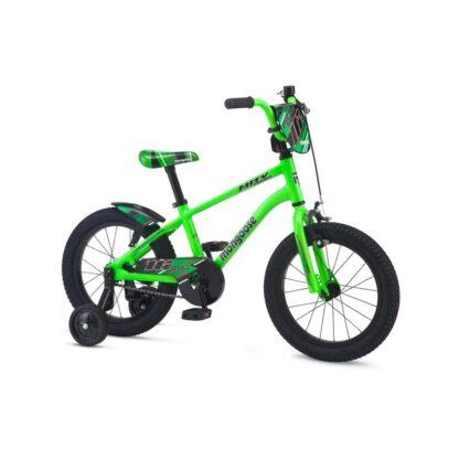Mongoose MityGoose Boys Kids Bike Green Hero