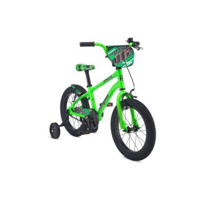 Mongoose MityGoose Boys Kids Bike Green Front