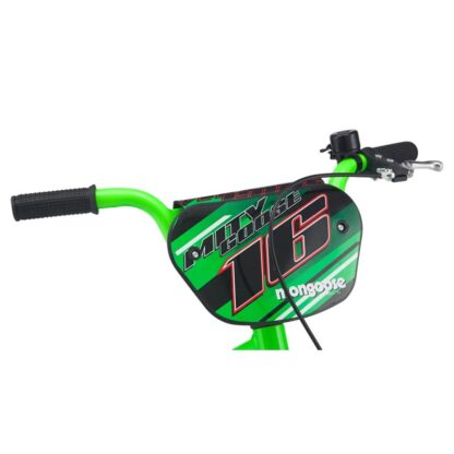 Mongoose MityGoose Boys Kids Bike Green Handlebar