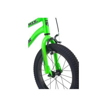 Mongoose MityGoose Boys Kids Bike Green Front Wheel