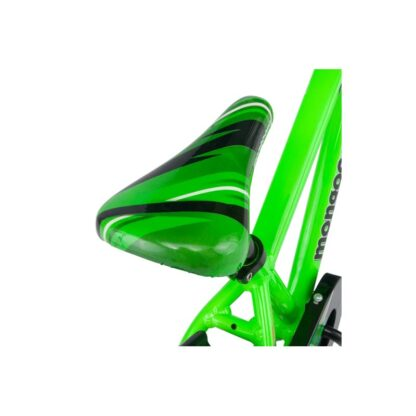 Mongoose MityGoose Boys Kids Bike Green Saddle