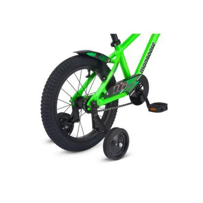 Mongoose MityGoose Boys Kids Bike Green Rear