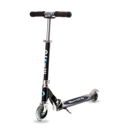 Micro Sprite 2 Wheel Scooter Black Hero