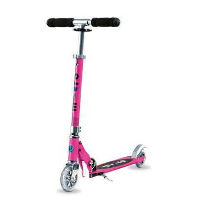 Micro Sprite 2 Wheel Scooter Pink Hero
