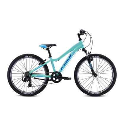 Fuji Dynamite 24 Sport Kids Mountain Bike 2021 Silver Mint Hero