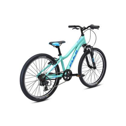 Fuji Dynamite 24 Sport Kids Mountain Bike 2021 Silver Mint Rear