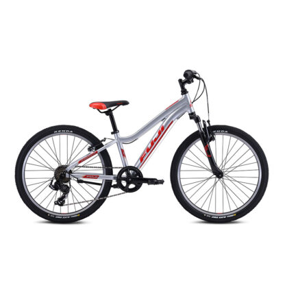 Fuji Dynamite 24 Sport Kids Mountain Bike 2021 Silver Hero
