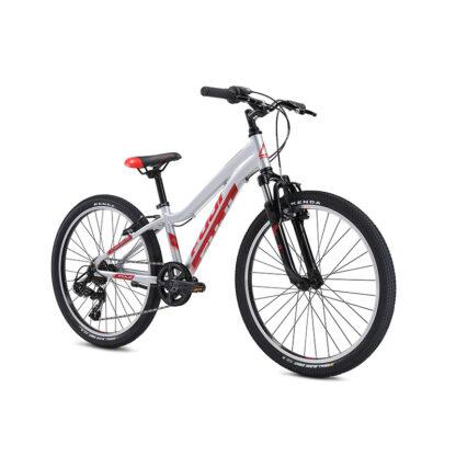 Fuji Dynamite 24 Sport Kids Mountain Bike 2021 Silver Front